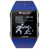 POLAR GPS sports watch [V800] - Blue/Red - Gps & Running Watches